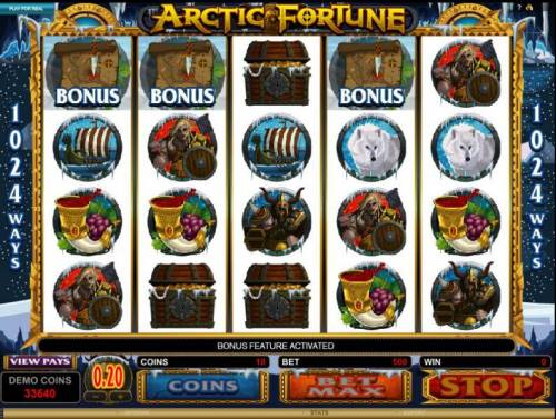 Arctic Fortune Review Slots Bonuis Round Hit