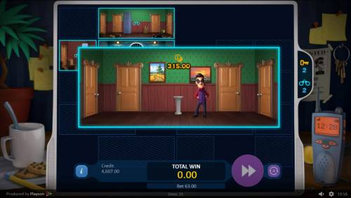 Art of the Heist Review Slots Select the correct room and earn cash prizes.