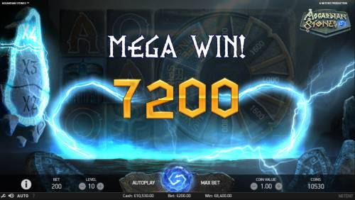 Asgardian Stones Review Slots Mega Win