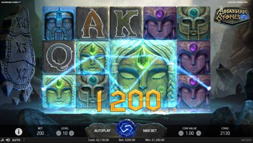 Asgardian Stones Review Slots Big Win