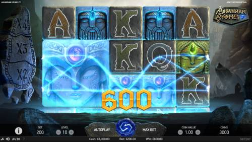 Asgardian Stones Review Slots Multiple winning paylines