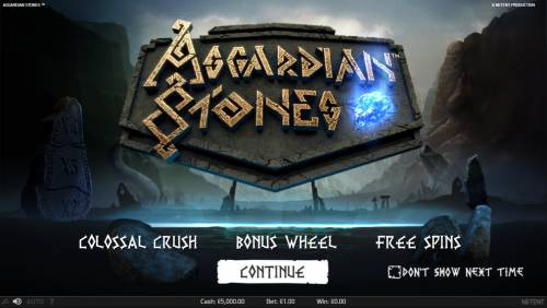 Asgardian Stones Review Slots Introduction