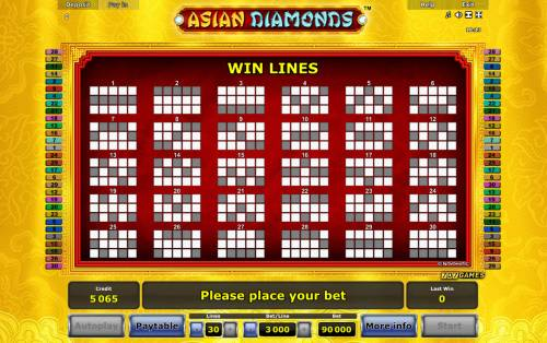 Asian Diamonds Review Slots Paylines 1-25
