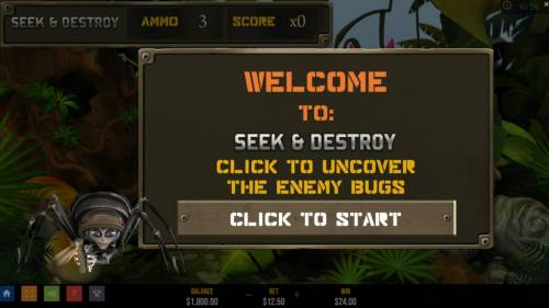 Atari Black Widow Review Slots Seek and Destroy feature triggered