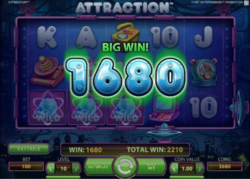 Attraction Review Slots 1680 coin big win