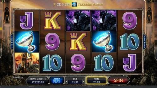 Avalon II The Quest for the Grail Review Slots two scatter symbols doubles your line bet