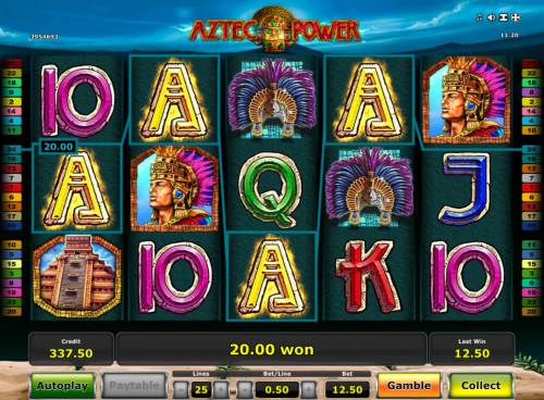 Aztec Power Review Slots Four of a kind