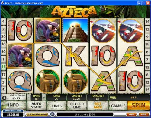 Azteca review on Review Slots