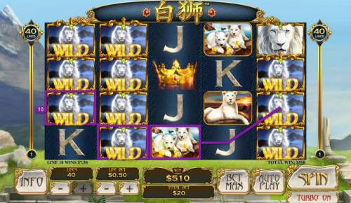 Bai Shi Review Slots Multiple winning paylines triggers a big win!