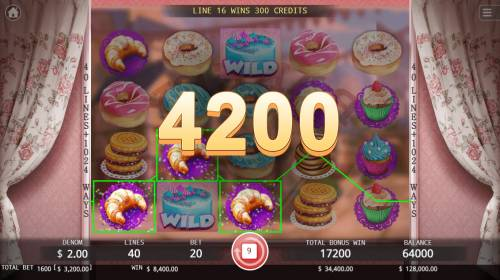 Bakery Sweetness Review Slots Multiple winning paylines triggers a big win
