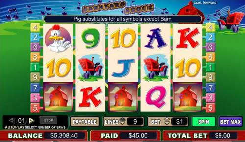 Barnyard Boogie review on Review Slots
