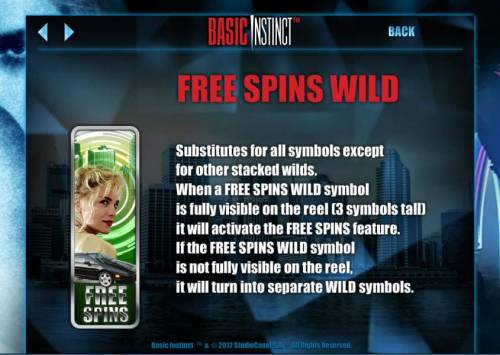 Basic Instinct review on Review Slots