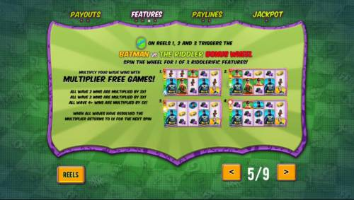 Batman and The Riddler Riches Review Slots Multiplier Free Games Rules