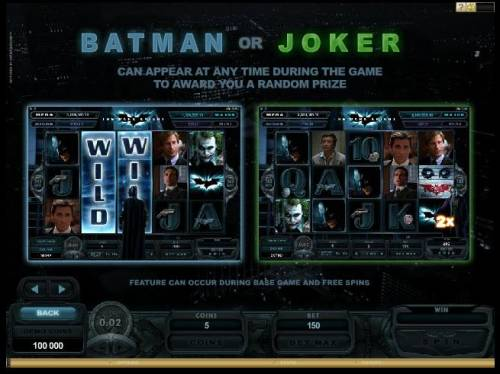 Batman - The Dark Knight Review Slots Batman or Joker Random Wins