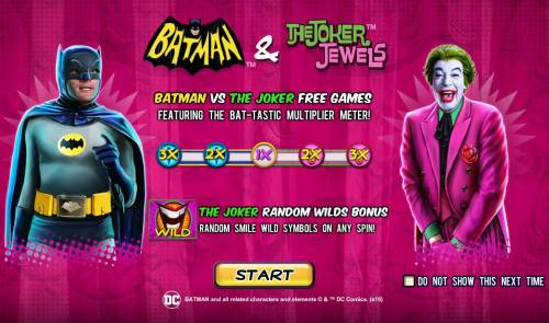 Batman and the Joker Jewels review on Review Slots