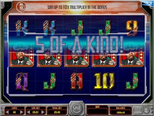 Battleship Review Slots five of a kind
