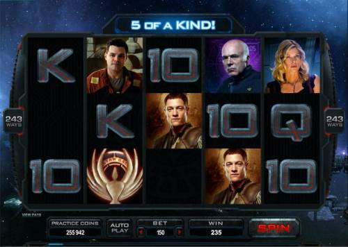 Battlestar Galactica Review Slots 5 of a kind