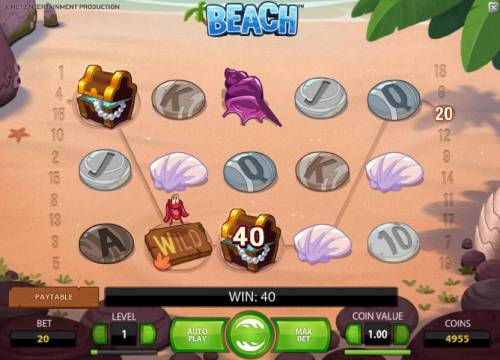 Beach review on Review Slots