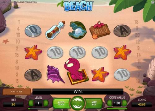 Beach Review Slots octopus wild symbol will look for two possible symbols to swap thus triggering a win