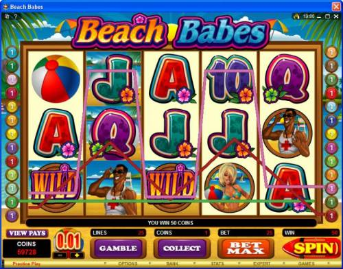 Beach Babes Review Slots