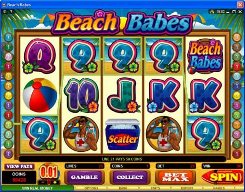 Beach Babes review on Review Slots
