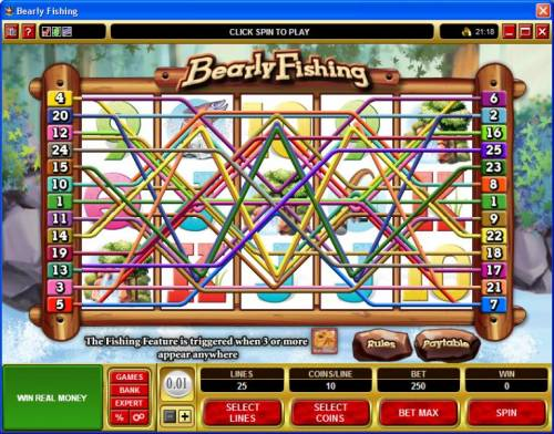 Bearly Fishing review on Review Slots