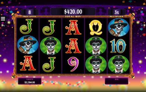 Beautiful Bones Review Slots Free Spins Game Board