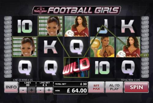 Bench Warmer Football Girls Review Slots wild symbol triggers 145 coin jackpot payout