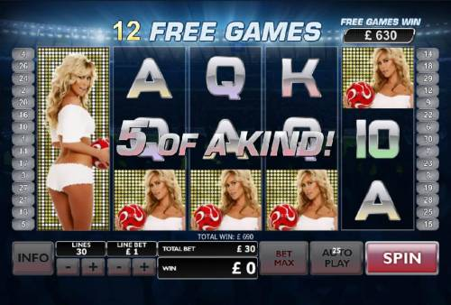 Bench Warmer Football Girls Review Slots 5 of a kind