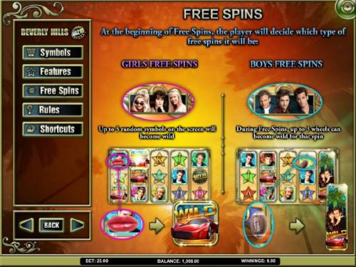 Beverly Hills 90210 Review Slots free spins feature rules
