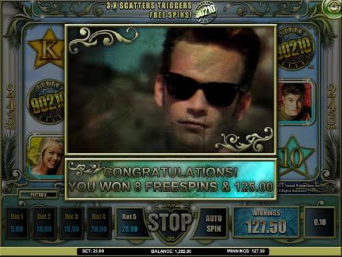 Beverly Hills 90210 Review Slots 8 free spins awarded