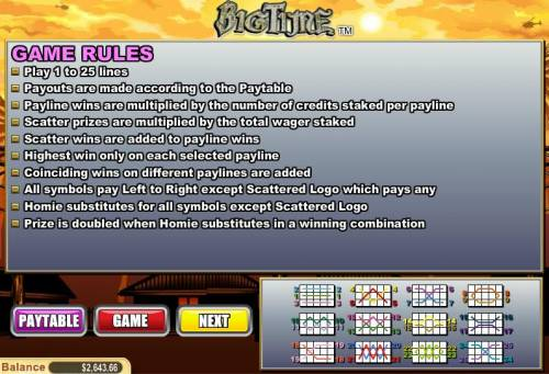 Big Time review on Review Slots