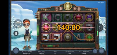 Big Time Journey Review Slots Multiple winning paylines triggers a big win during the free spins feature!