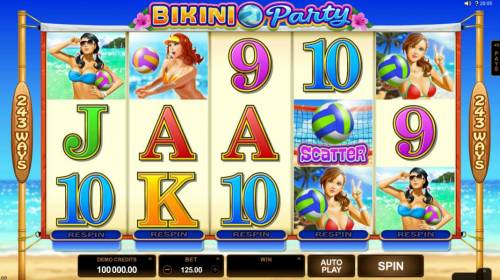 Bikini Party review on Review Slots