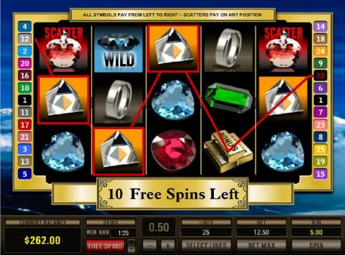Black Diamond 25 Lines review on Review Slots