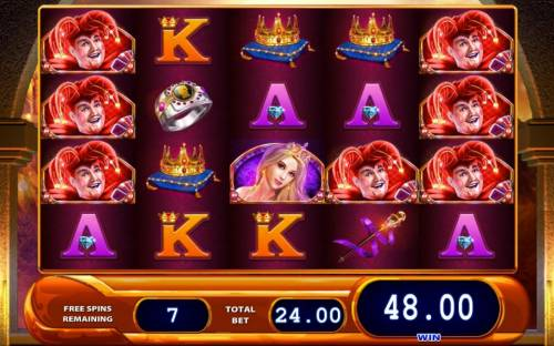 Black Knight II Review Slots Free Spins Game Board