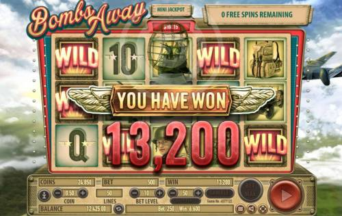 Bombs Away Review Slots The Free Spins feature pays out a total of 13,200 coins for an awesome win.