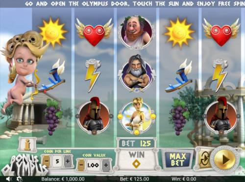 Bonus Olympus Review Slots Main Game Board