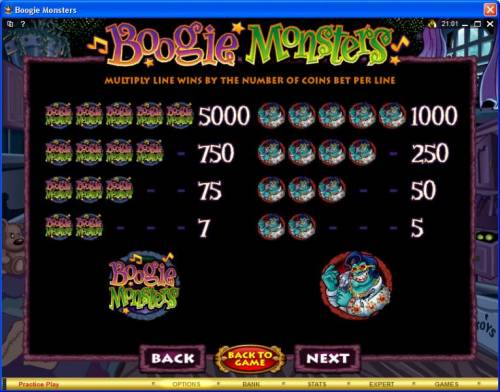 Boogie Monsters Review Slots