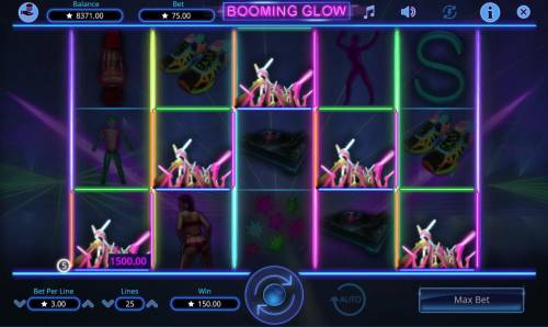 Booming Glow Review Slots A winning Five of a Kind