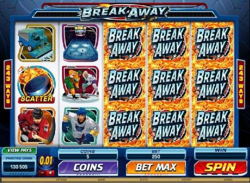 Break Away Review Slots sample reels