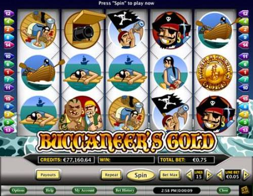 Buccaneer's Gold review on Review Slots