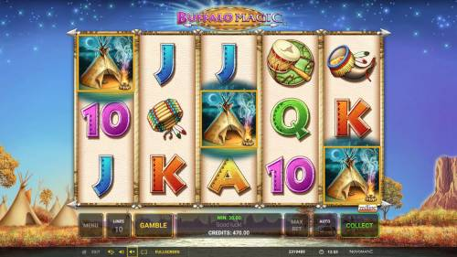 Buffalo Magic review on Review Slots