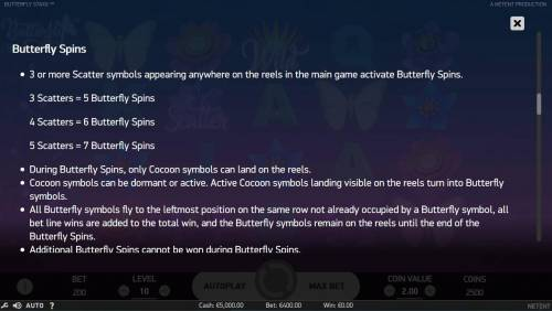 Butterfly Staxx Review Slots Butterfly Spins Rules
