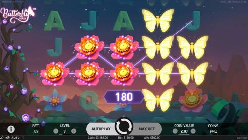 Butterfly Staxx Review Slots Landing a full stack of butterfly symbols on a reel activates the Re-Spin feature.