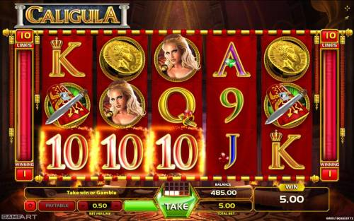 Caligula review on Review Slots