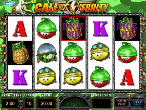 Call of Fruity review on Review Slots