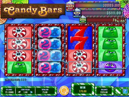 Candy Bars review on Review Slots