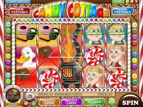 Candy Cottage review on Review Slots