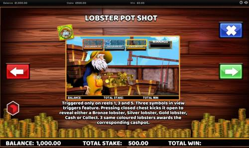 Captain Cashfall Review Slots Lobster Pot Rules